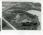 Aerial view of Bethel College and Seminary, Arden Hills