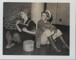 Students performing the Sophomore Skit, 1942