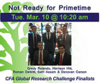 CFA Global Research Challenge Finalists