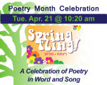 A Celebration of Poetry in Word and Song