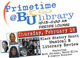 Black History Month Musical & Literary Review