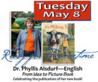 From Idea to Picture Book; Celebrating the publication of her new book!
