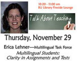 Multilingual Students: Clarity in Assignments and Tests
