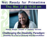 Challenging the Disability Paradigm: Disability as a Part of Diversity and Reconciliation