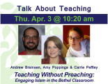 Teaching Without Preaching: Engaging Islam in the Bethel Classroom
