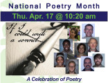 National Poetry Month - A Celebration of Poetry