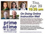 On Doing Online Instruction Well