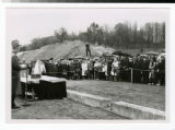 Bethel Seminary cornerstone laying ceremony with Dr. Virgil Olson 1964