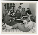 Night life in Bodien Women's dorm 1959 - 1960