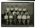 Bethel Academy women's basketball team photo 1930-31