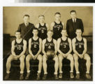 Bethel Academy men's basketball team photo 1933-34