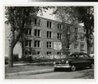 Bethel College and Seminary Women's Dormitory Addition construction site 1957
