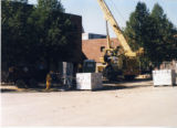 Construction of north addition to CC building 2