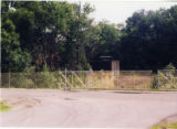 Old site of dynamite shack (future site of Heritage Hall)