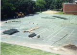 Construction of Heritage Parking Lot on site of old tennis courts 1