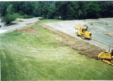 Construction of Heritage Parking Lot on site of old tennis courts 2