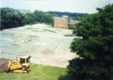 Construction of Heritage Parking Lot on site of old tennis courts 3