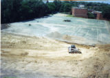 Construction of Heritage Parking Lot on site of old tennis courts 4