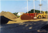 Construction of new football field 11