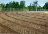 Seeding of new baseball field by John Hope