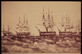 Edgren drawing of naval ships