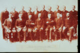 Faculty and graduating class of 1893, The Swedish Baptist Theological Seminary, Morgan Park, Ill.,...