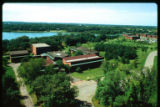Aerial view of north end of Arden Hills campus