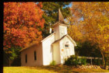 Scandia Chapel in fall