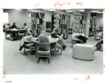Students studying in LRC first floor