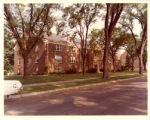 Another street view of Hagstrom Residence along Dormitory Row