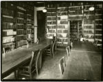 Another Seminary Library room, long view of tables