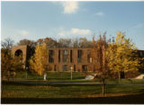 View of Nelson Hall in Fall