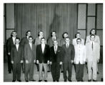 Brothers at Bethel, group of male students