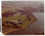 Aerial view of Bethel Seminary Village, Arden Hills