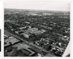 Aerial view of Bethel College and Seminary, Snelling Avenue, Saint Paul