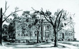 Drawing of Bethel Institute