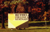Bethel College and Seminary Sign