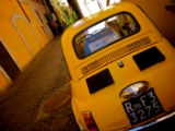 Little Yellow Car