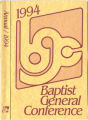 1994 Annual Report of the Baptist General Conference