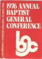 1976 Annual Report of the Baptist General Conference and Bethel University
