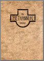 Bethel Yearbook 1926