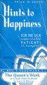 Hints to Happiness for the sick : especially patients in hospitals