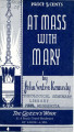 At mass with Mary